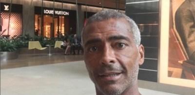 """Romário treina """"igual um garoto"""" após cirurgia polêmica, revela personal"""