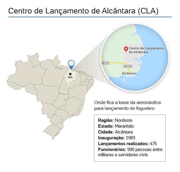 mapa---centro-de-lancamento-de-alcantara---cla-1518626504989_615x589 Brasil tenta há 2 anos encerrar parceria com Ucrânia que custou R$ 483 mi e não lançou foguete