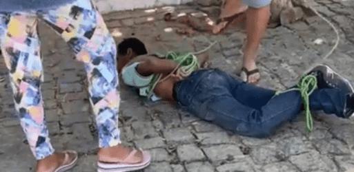 Polícia apura crime de tortura contra quilombola amarrado e agredido no RN  - 14/09/2021 - UOL Notícias