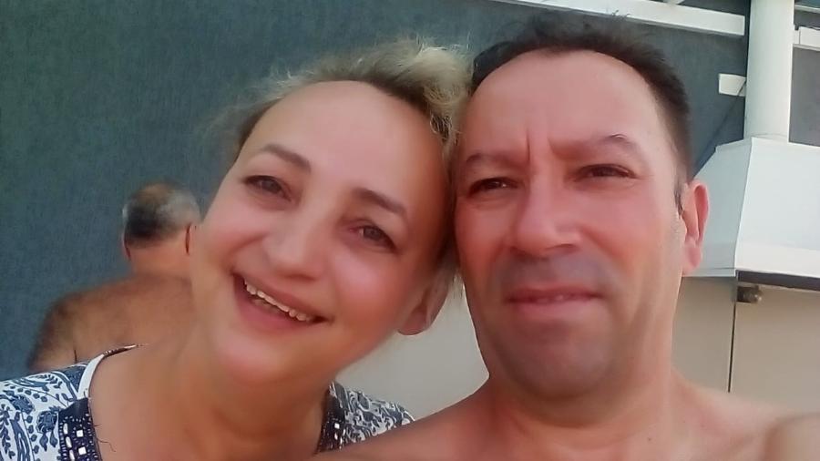Rilavia Soares, de 53 anos, e o marido, Enivaldo Braz, 50, queriam abrir um hostel - Arquivo Pessoal