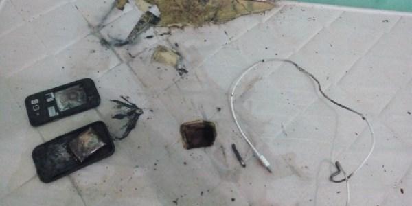 2,set.2017 - Explosão de celular provocou queimaduras de 2° grau em estudante de medicina