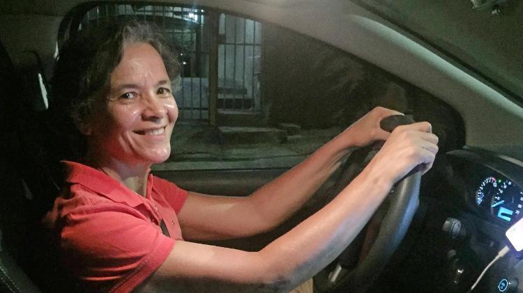 Suely Aparecida de Oliveira, 53 anos, trabalha para a Venuxx há cinco meses - Dunia Catelli/UOL