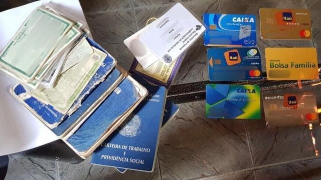 PF recupera cartões de benefício social de indígenas roubados por estelionatários - Divulgação/Polícia Federal