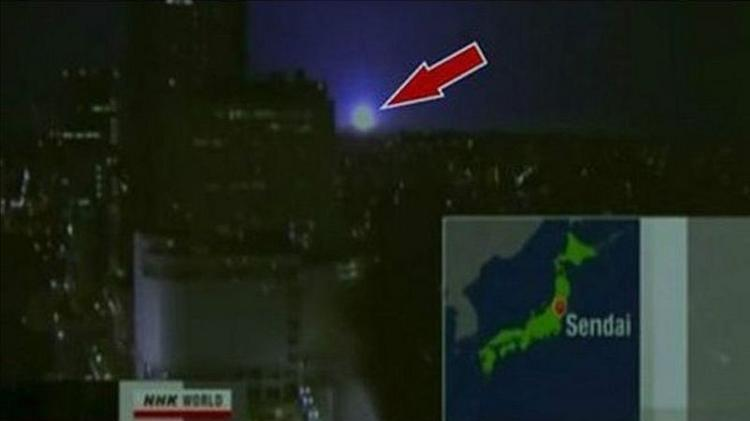 Strange globes of light were seen after Fukushima earthquake - NHK - NHK