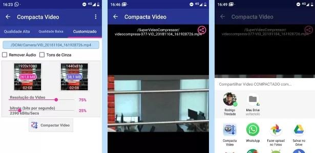 Compressão de vídeo no Android 2 - Reprodução - Reprodução
