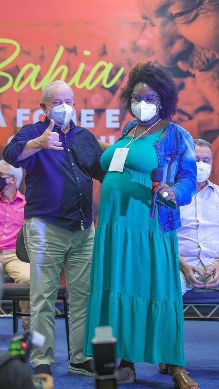 In Bahia, Lula receives a request for a black or indigenous woman as vice.  - Ricardo Stuckert - Ricardo Stuckert