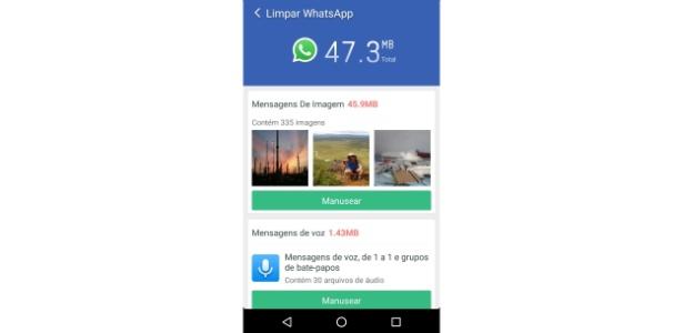 cleaner-master-1-1484596510567_615x300 WhatsApp é vilão na memória do celular? Aprenda a limpar o aplicativo