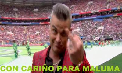Mundial 2018. Robbie Williams. Williams