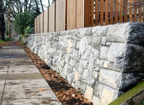 Eric Contey Stonework - Sellwood wall detail