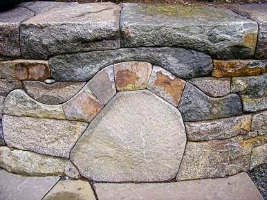 Eric Contey Stonework - DeGarmo raised bed wall