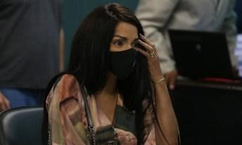'Ela é a mais perigosa', declara delegado que investigou Flordelis após prestar depoimento em audiência [Foto: Pedro Teixeira/Agência O Globo]
