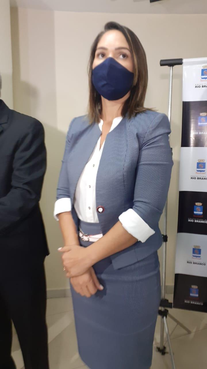 Marfisa Galvão, secretária de Assistência Social