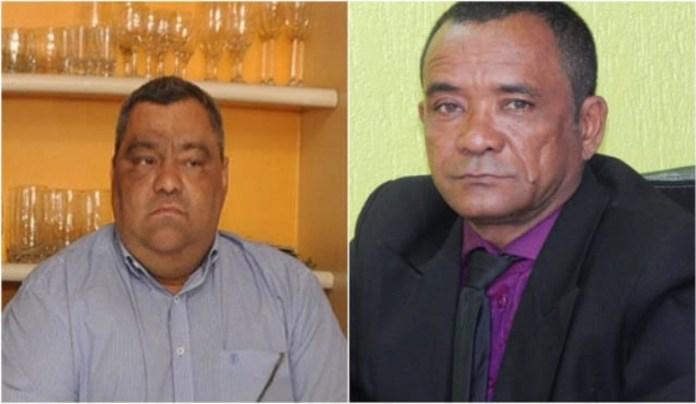 Vereador Canário e Mazinho Serafim, que viveram tempos de guerra, agora fizeram as pazes