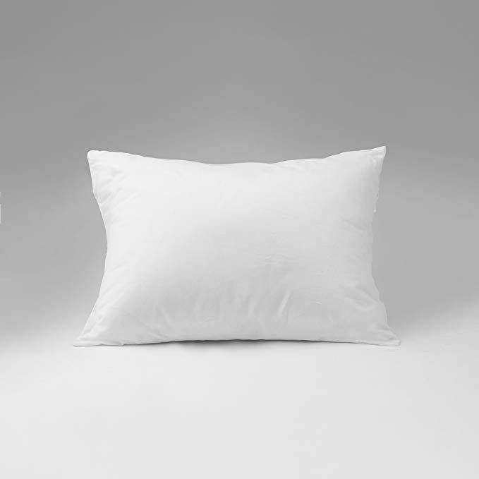continental bedding 100 premium white goose down luxury pillow 550 fill power