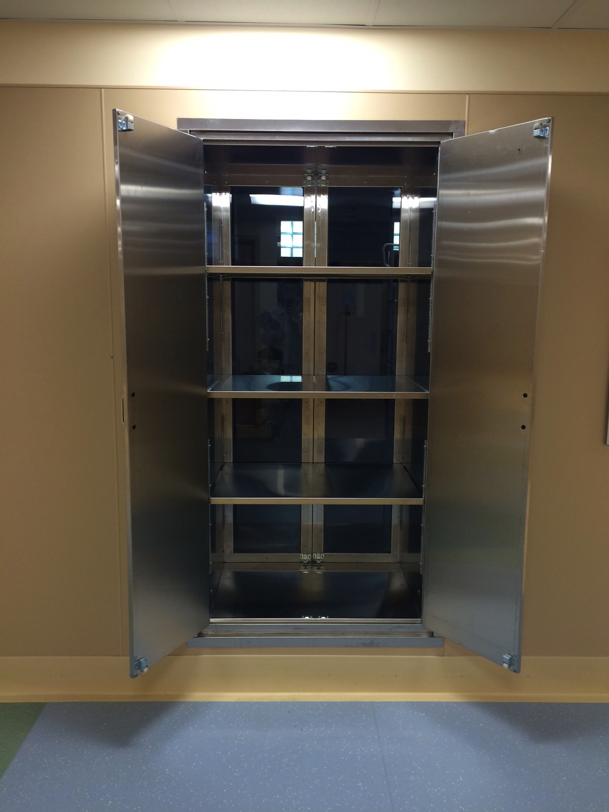Pass Through Operating room Cabinet with Stainless Steel