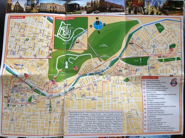 Turistik Santiago Continental shifts Chile