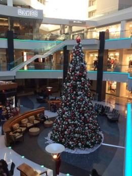 Weihnachten im Einkaufszentrum