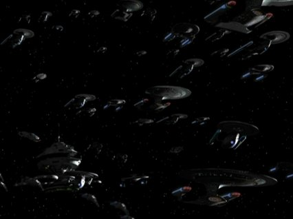 Federation Task Force at Sigma-Class Operational Base