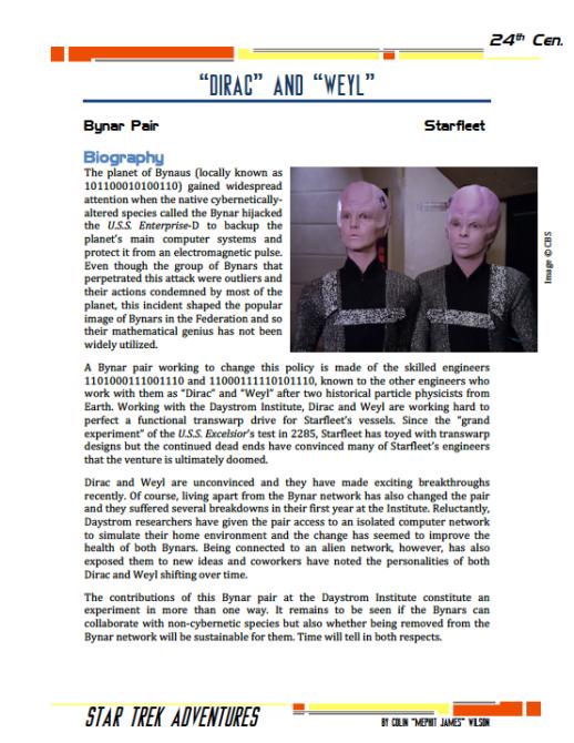 Dirac and Weyl - Bynar Engineers - Preview
