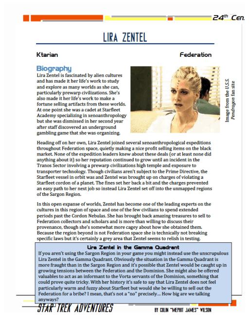 Lira Zentel - Ktarian Artifact Dealer - Preview