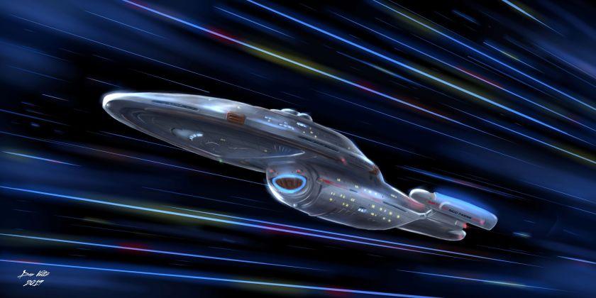 004 Voyager at Warp - Star Trek - Social Media (1)