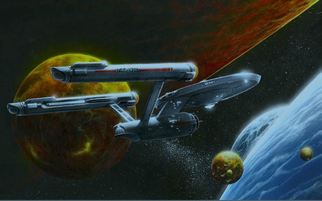 SNW 1 Classic Star Trek Enterprise