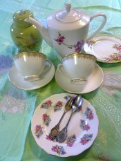 Tea sets for hire
