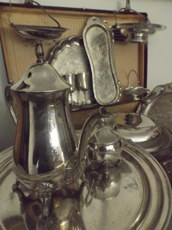 Hire silver teapots Blue Mountains NSW