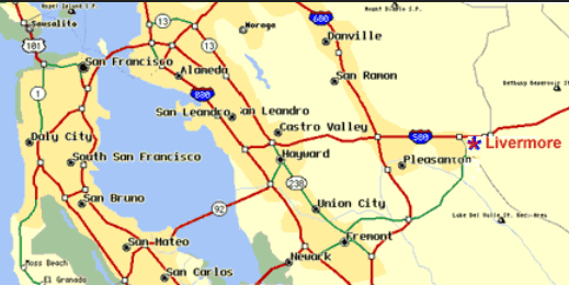 livermore map