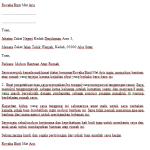Contoh Surat Mohon Bantuan Atap Rumah