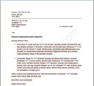 Contoh Surat Rasmi  Contoh Resume