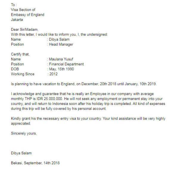 Contoh Surat Dispensasi Sekolah Untuk Mengikuti Acara