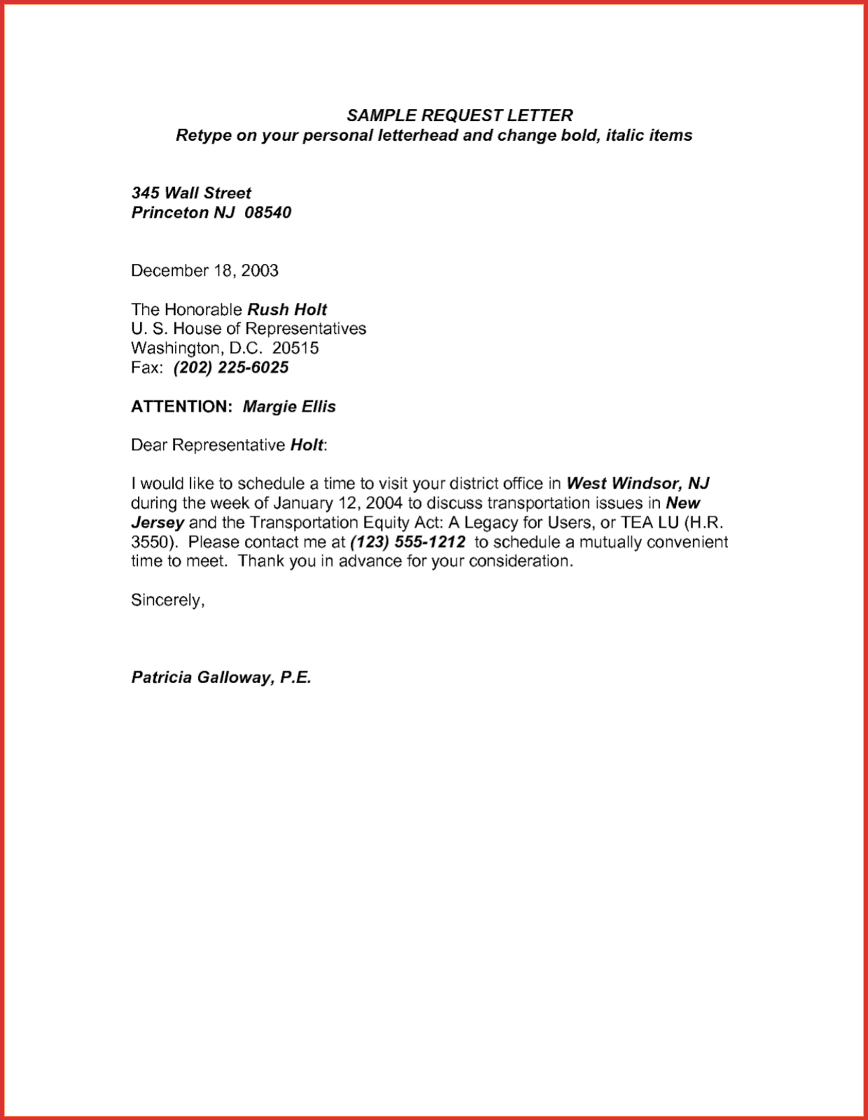 Leave Letter Format For Office For Personal Work