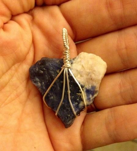 Custom Piece - Natural Saphire