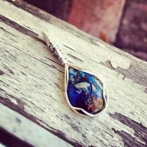 Blue Jasper Pendant