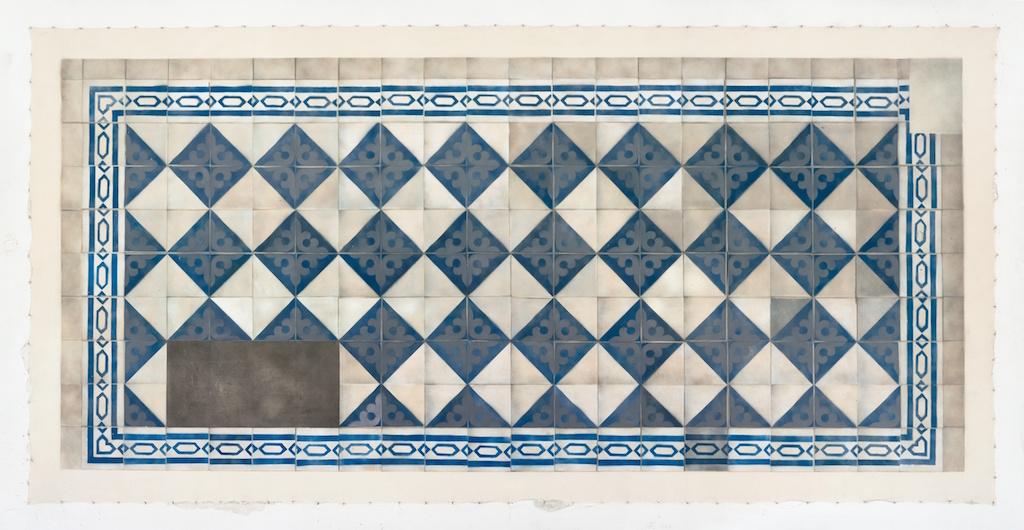 Cultural Floor. Jewish / Blue Slate, 2016