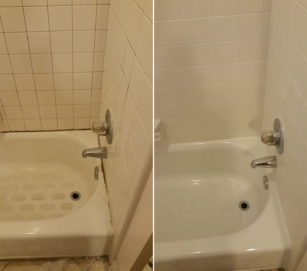 Shower Regrouting  Contour Cleaning