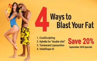 September 2018 Specials – 4 Ways to Blast Your Fat