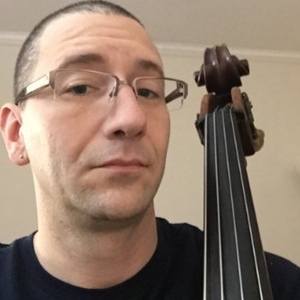Double bassist and music educator is today's podcast guest