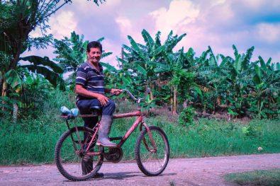 La bici.