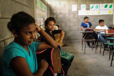 La escuela del IHER cuenta con 7 aulas y las niñas y niños cuentan con mejores condiciones para estudiar.