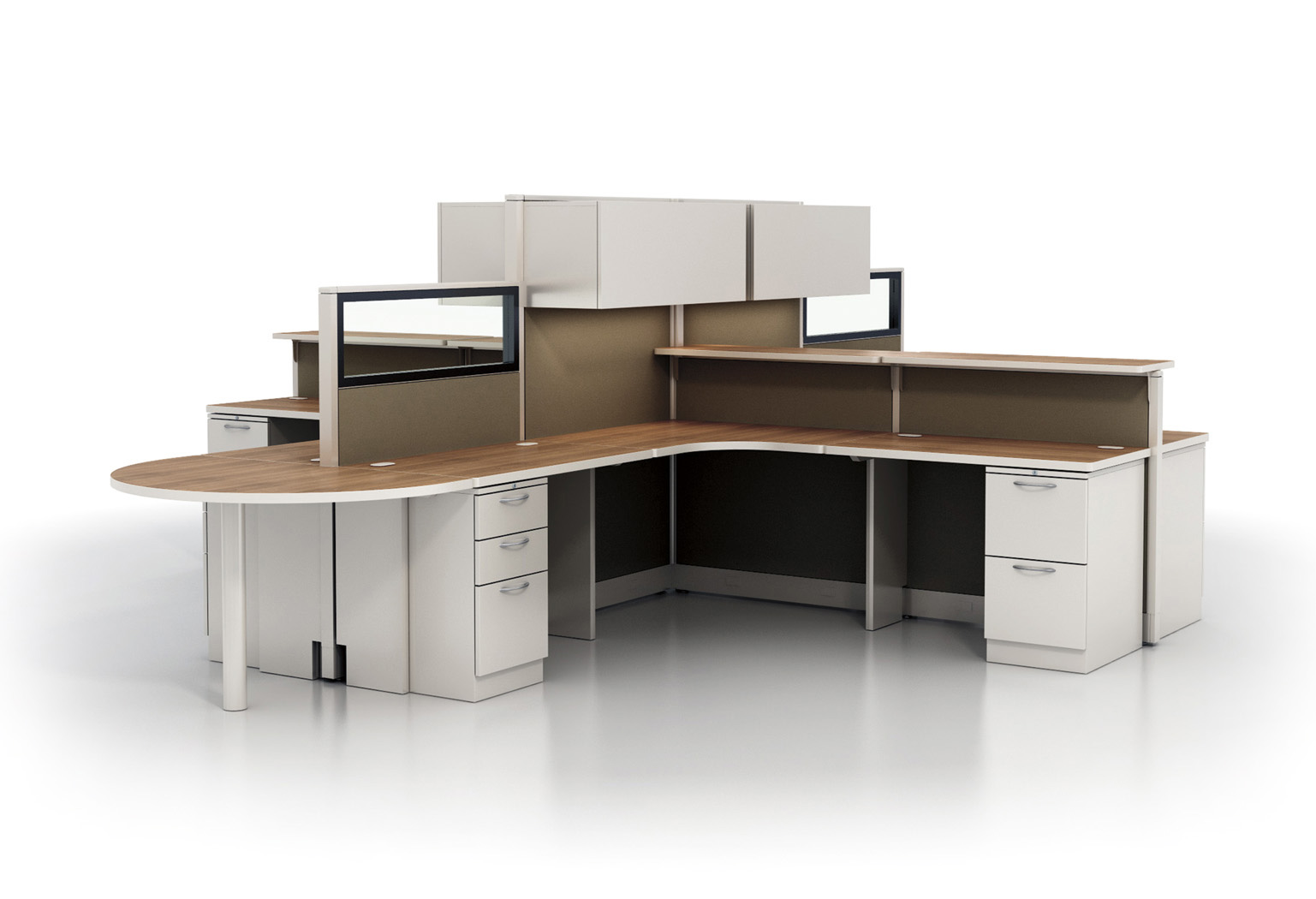 Open Plan Panel Systems Contract Furnishings