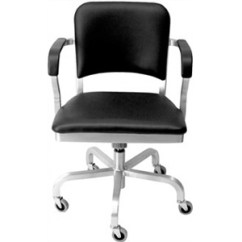 Swivel Arm Chairs Chair Covers For Office Emeco High End Restaurant Furniture Navy Upholstered With Casters