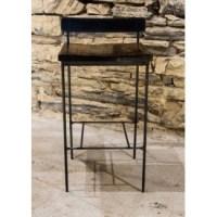 Reclaimed Wood Bar Stools - Minimalist Stool ...