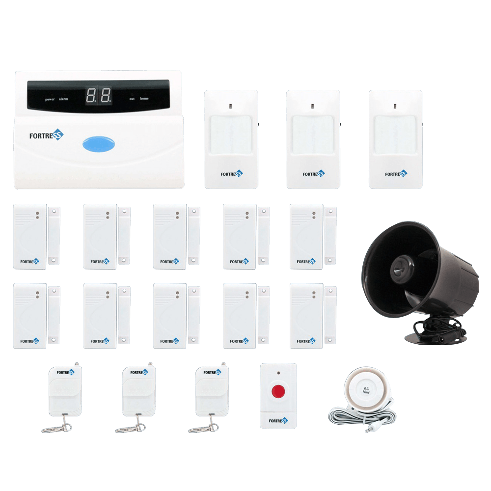 Wireless Security System 2017