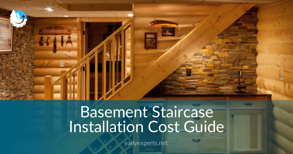 Basement Staircase installation Costs Updated  Prices in 2018