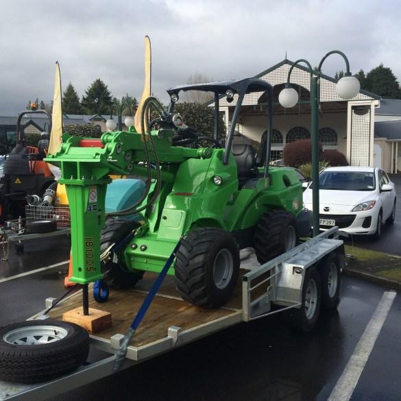 Equipment from Glenbrook machinery
