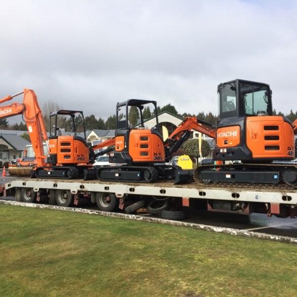 Hitachi mini-excavators