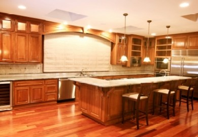 Install Kitchen Cabinets And Floors First