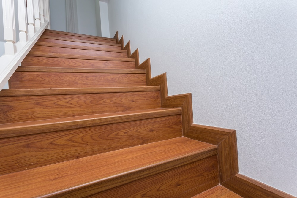 How To Install Laminate Flooring On Stairs Contractor Quotes | Adding Carpet To Stairs